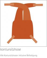 Kontursitzhose
